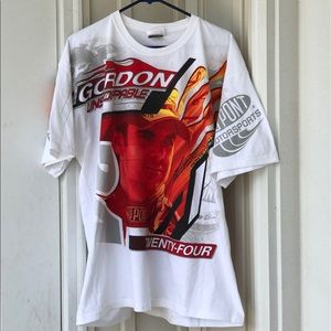 Vintage Jeff Gordon Nascar T Shirt